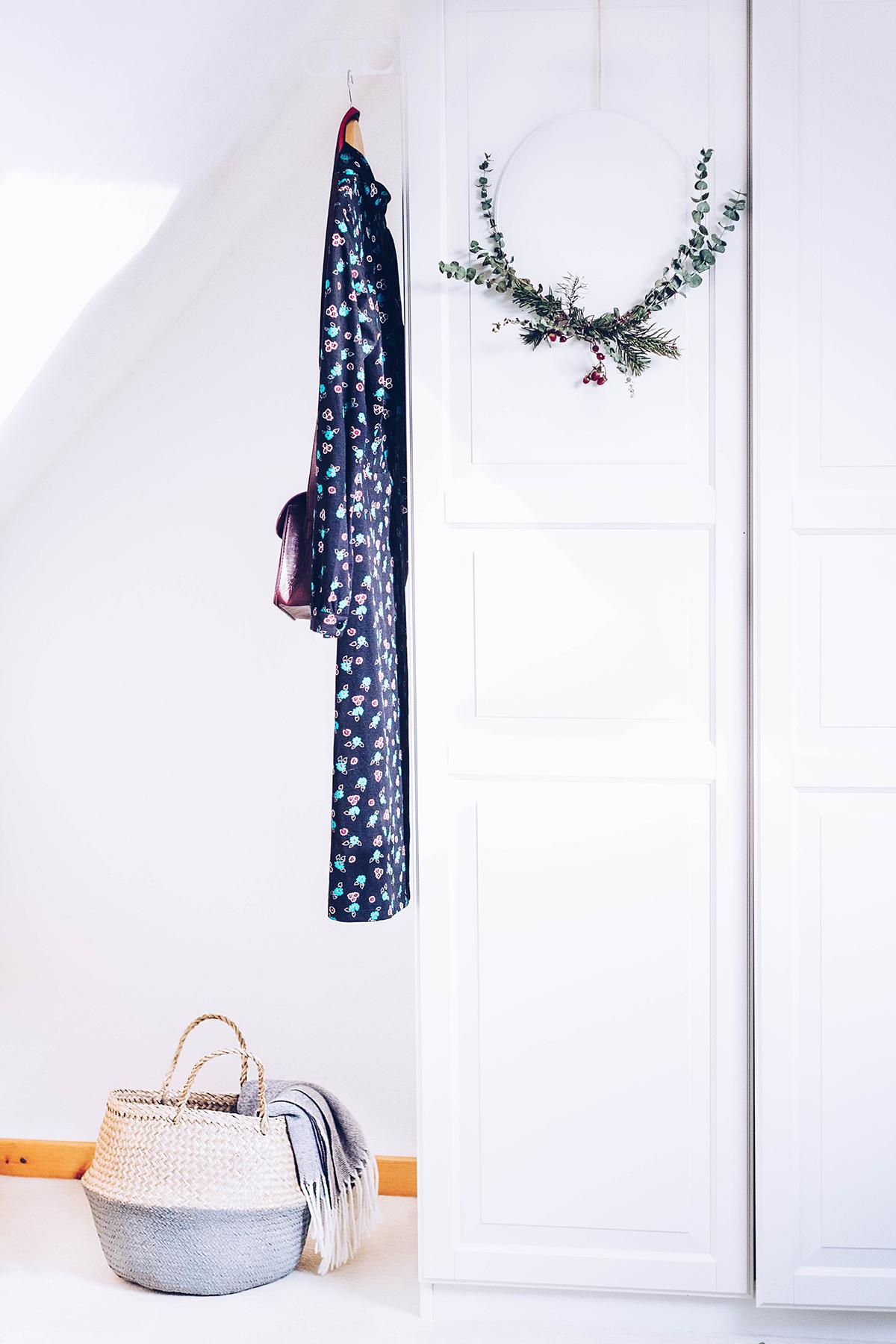 Ikea Hack: Faltkorb Fladis mit Acrylfarbe bemalen